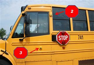 Stop Arm Violation Camera