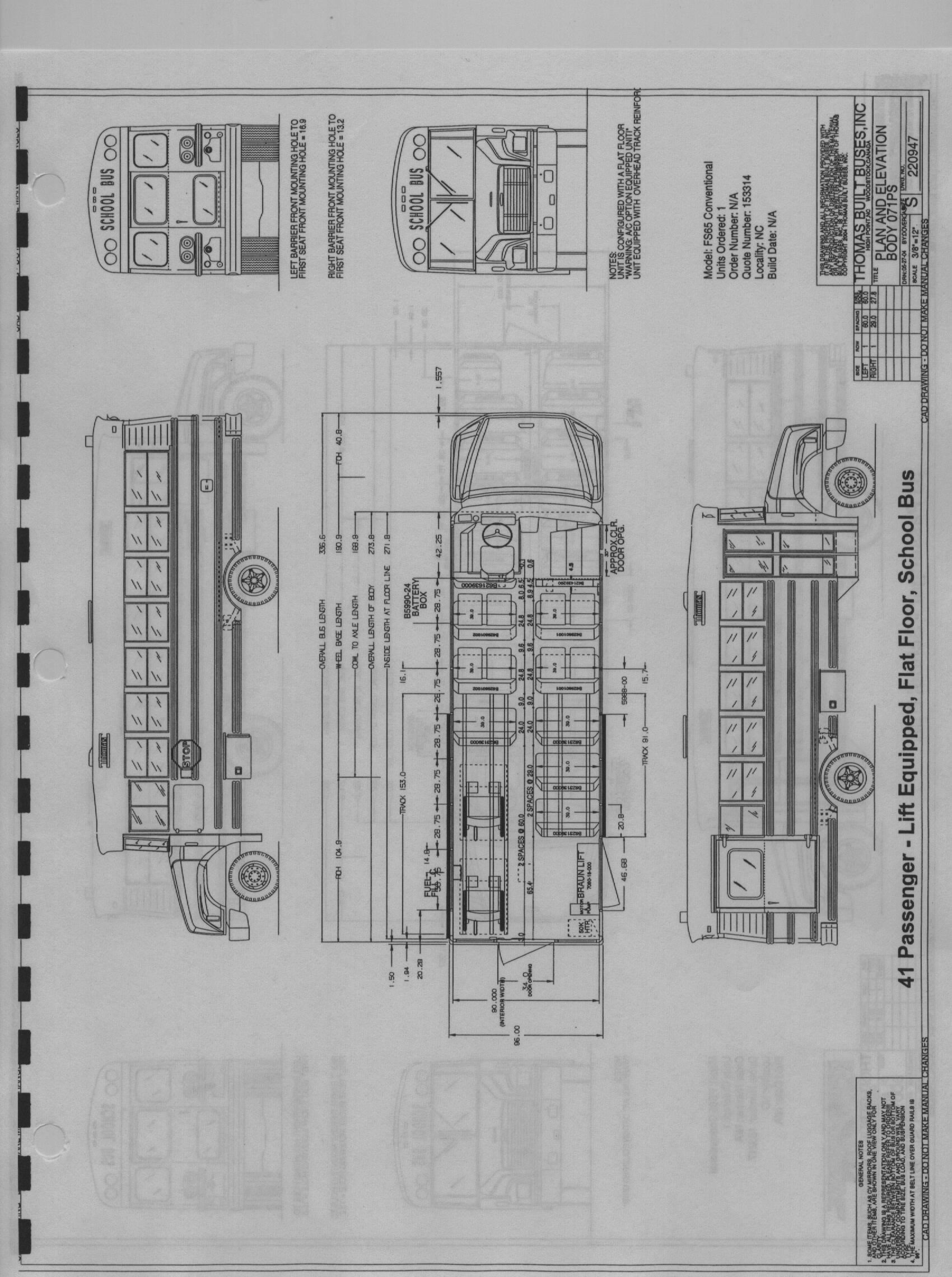 thomas bus electrical diagrams