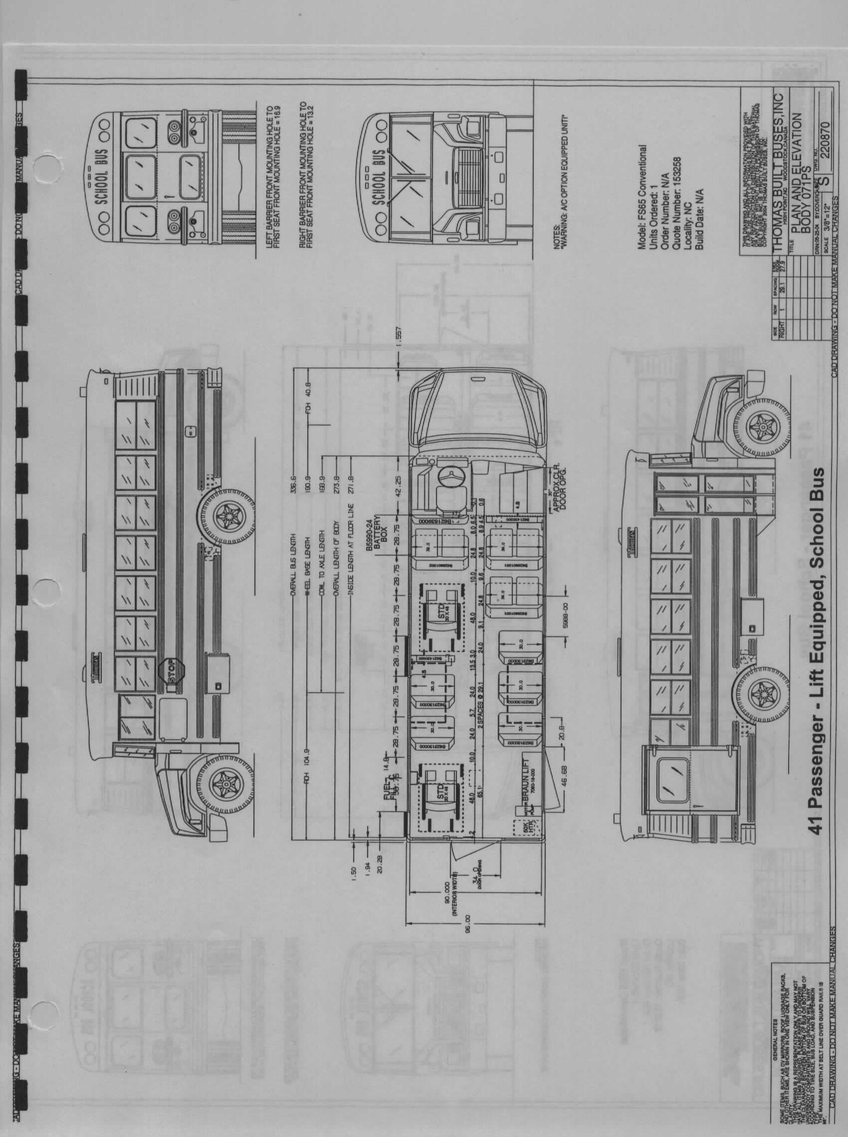 2003 Thomas Bus Wiring Schematics