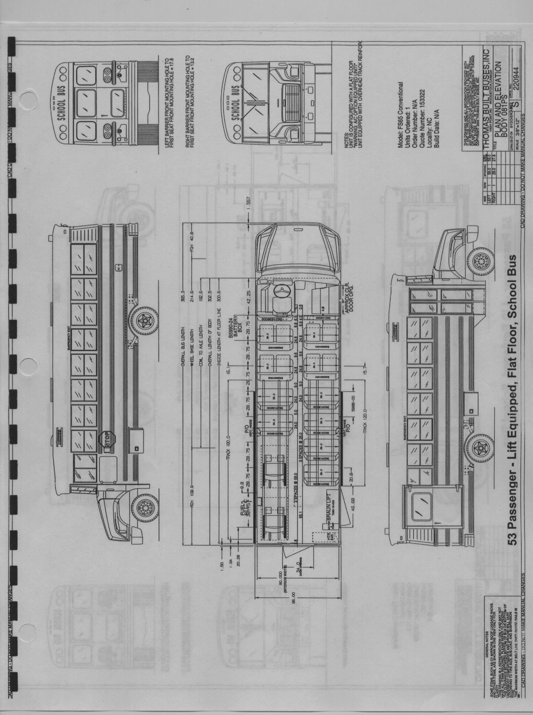 53 Flat Floor Lift school bus models wiring diagram for thomas built school bus at panicattacktreatment.co