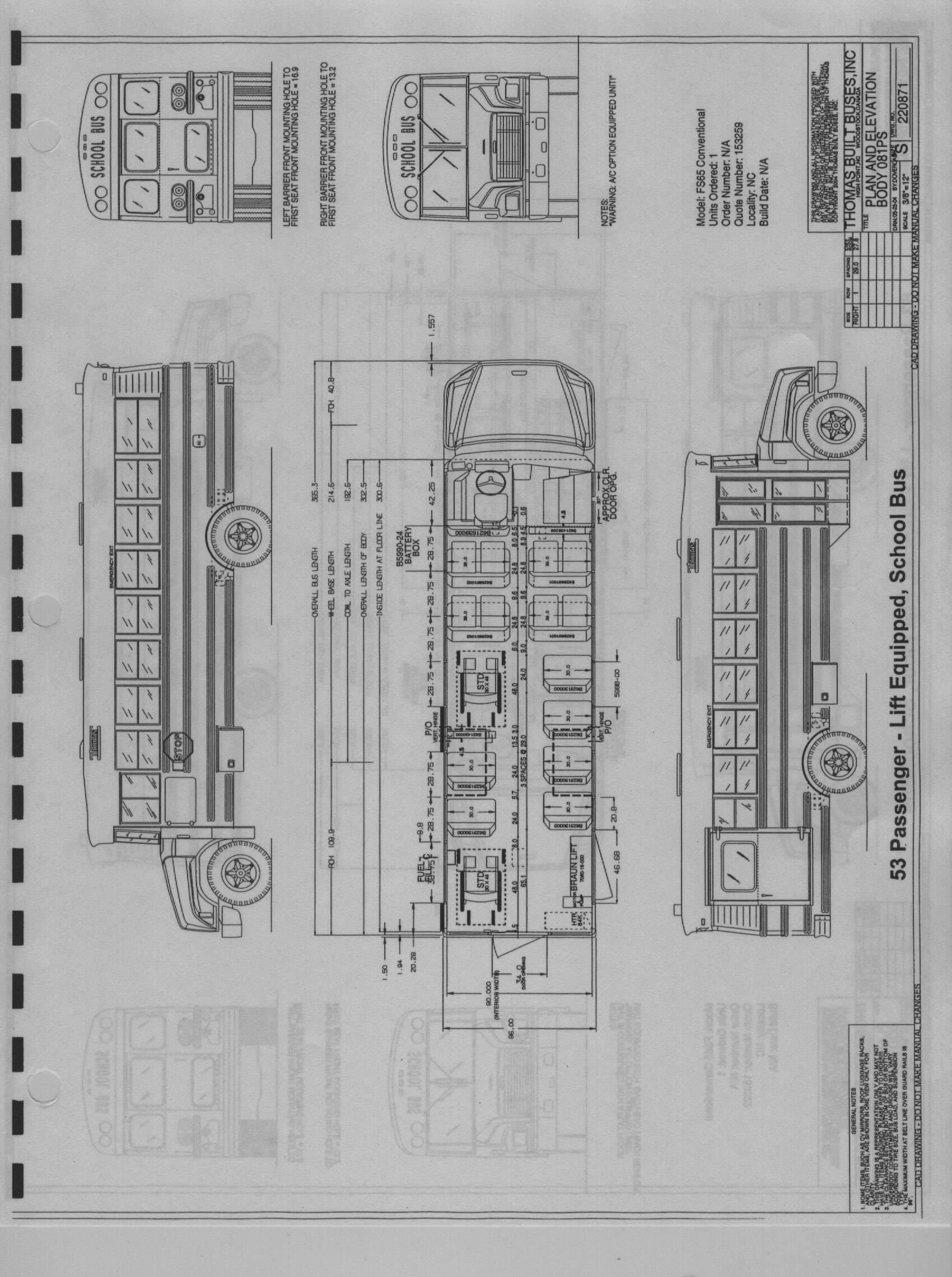 thomas built bus electrical diagrams